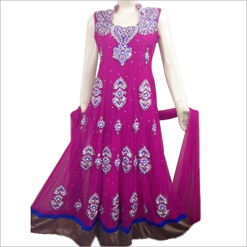 Wedding Long Anarkali Suit