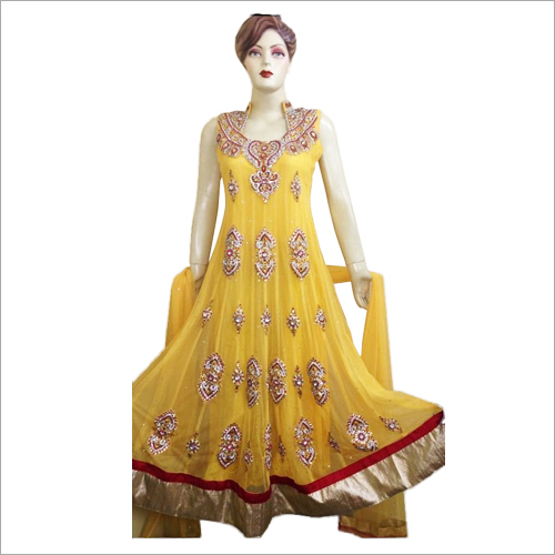 Heavy Embroidered Long Anarkali