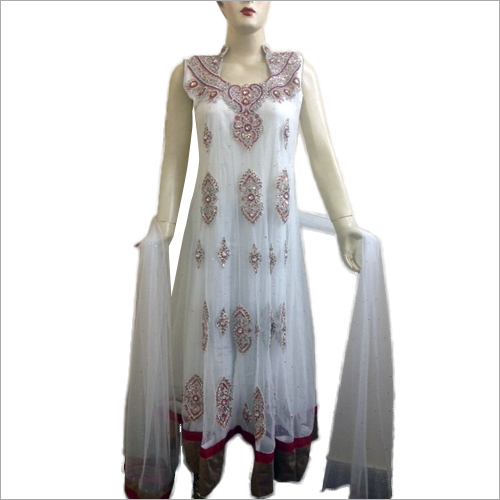 Bridal suit- Fully embroidered long anarkali
