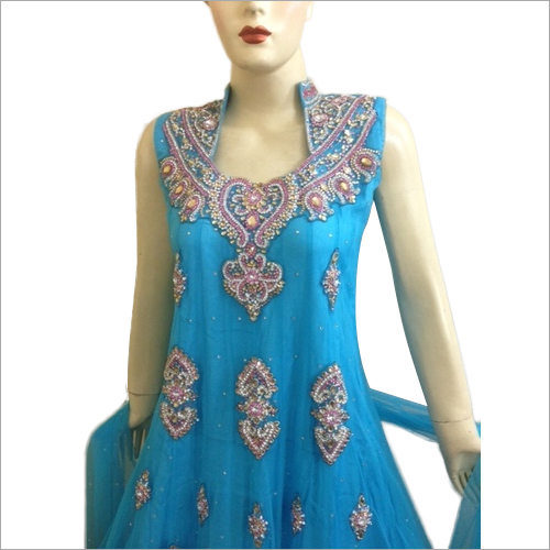 Embroidered Party Wear Anarkali
