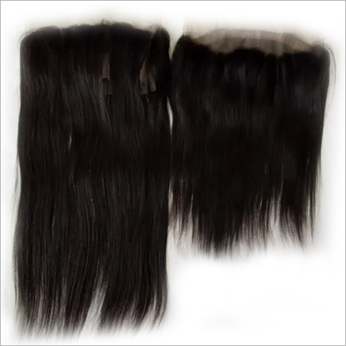 360 lace straight human hair frontal