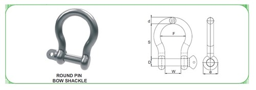 Mild Steel Bow-Shackle
