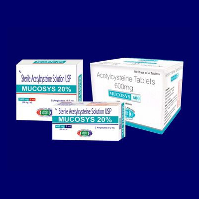 Acetylcysteine Tablets 600mg & 20% Solution Usp