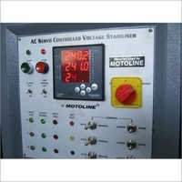 3 Phase Servo Controlled Voltage Stabilizer