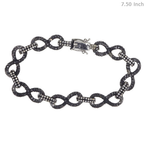 Pave Diamond Studded Bracelet