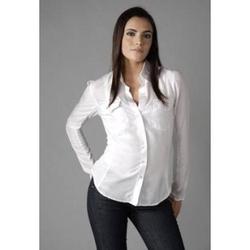 Formal White Women Shirt