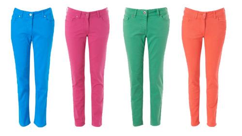 Womens Cotton Jeans