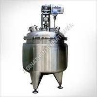 Shampoo Processing Vessel