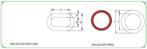 Round Ring WELDED