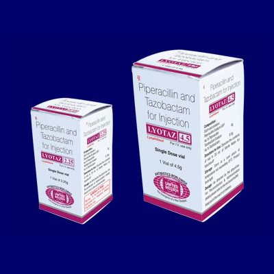 Piperacillin and Tazobactam for Injection 4.5 g