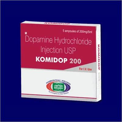 Dopamine HCL 200mg/5ml