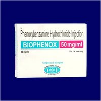 Phenoxybenzamine Hydrochloride Injection
