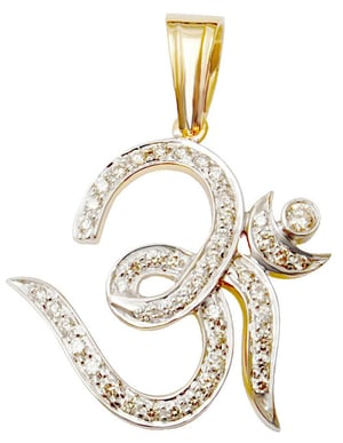 Indian Ethnic Pendant Jewelry manufacturar, Designer Pave Diamond Pendant