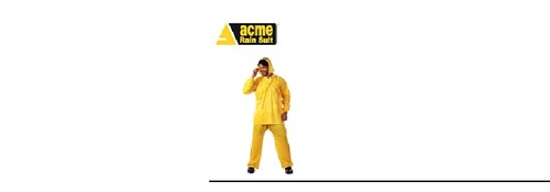 "ACME Make ""SAVIOUR"" Rain Coat"