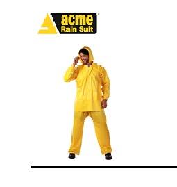 """ACME makes """"ARMOUR"""" Rain Suit"""