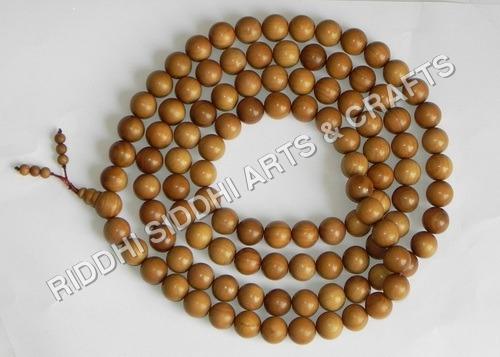 Sandalwood Necklace Beads