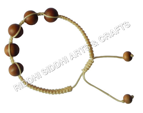 sandalwood beaded bracelet