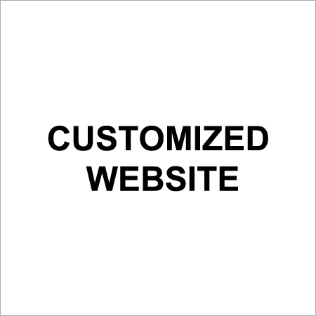 Customized Website Designing Services