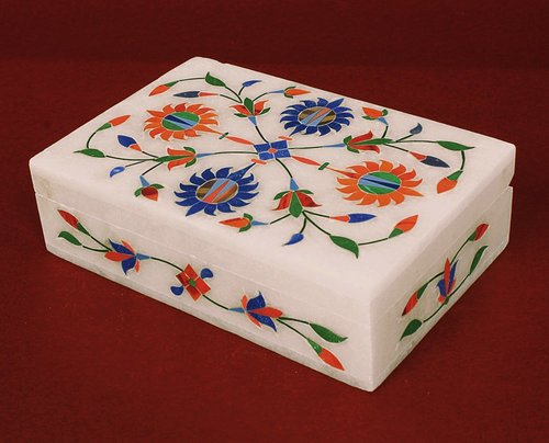 Handmade Marble Jewelry Box