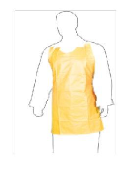 Front Body Yellow PVC Apron