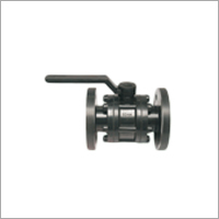 Hdpe Flanged Ball Valve