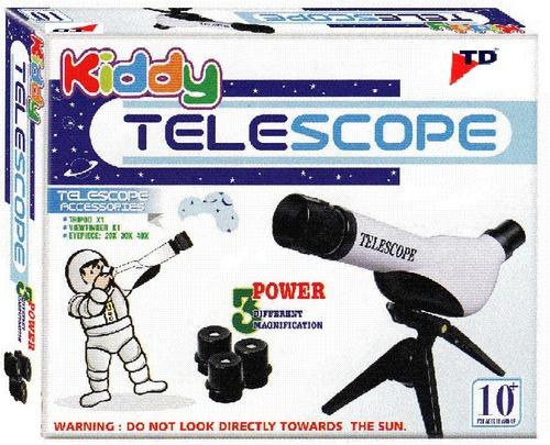 KIDDY TELESCOPE(Age-10+, Pkg-6pcs/ctn)