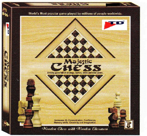 MAJESTIC CHESS(Age-8+, Pkg-6pcs/ctn)