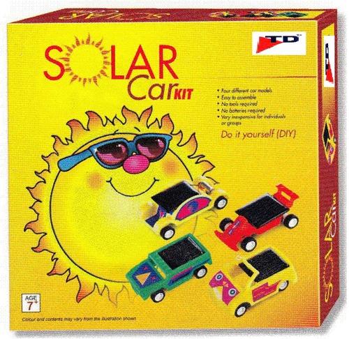 SOLAR CAR KIT (Age-7+, Pkg-6pcs/ctn)
