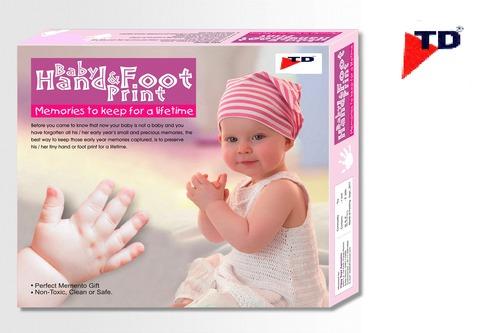 BABY HAND & FOOT PRINT.