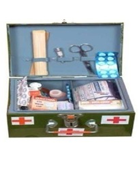 A -Type Crc First Aid Box With (21 Items)