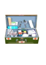 B-Type Crc First Aid Box With (23 Items)