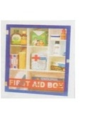Acrylic Type Firstaid Box With (22 Items) Medicine