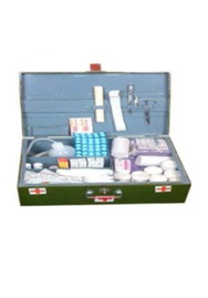 C- Type Crc First Aid Box With (29 Items) Medicine