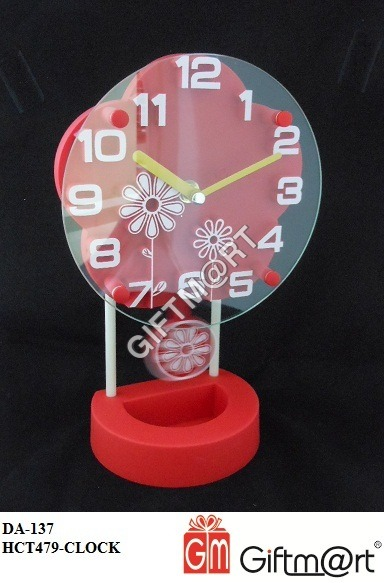 3D Office Table Clock