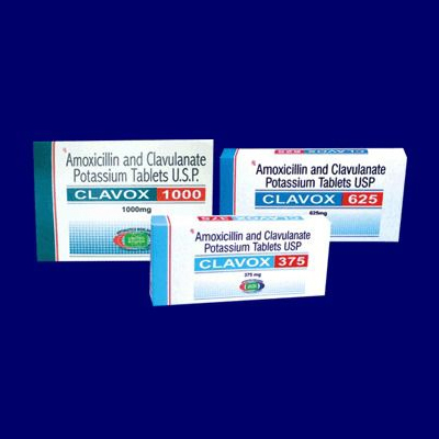 Amoxicillin and Clavulanate Potassium Tablets
