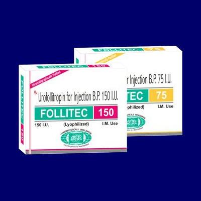 Urofollitropin for Injection BP 75 IU