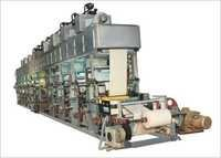 Rotogravure Press Printing Machine