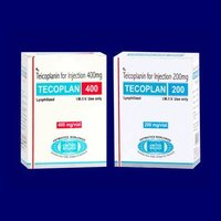 Teicoplanin for Injection 200 mg (Lyophilized)