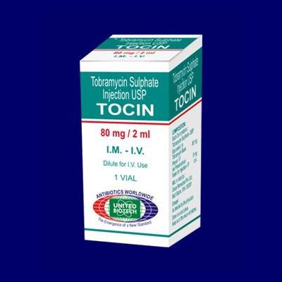 Tobramycin Injection USP 80 mg