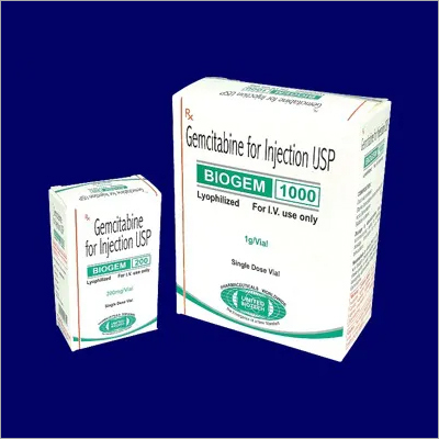 Gemcitabine for Injection USP 200 mg