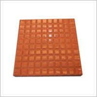 Square Chequered Tiles Moulds