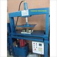 Manual Paper Plate Machine