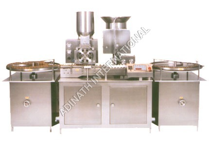Injectable Filling and Stoppering Machine