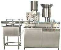 Injectable Powder Filling with Rubber Bunging Machine