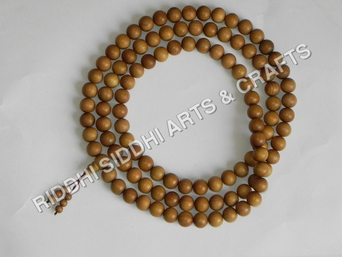 sandalwood meditation rosary beads