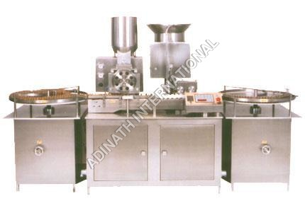 Sterile Powder Filling and Rubber Bunging Machine