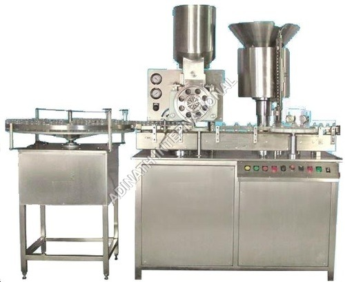 Sterile Powder Filling and Rubber Stoppering Machine
