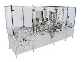 Vial Powder Filling and Stoppering Machine