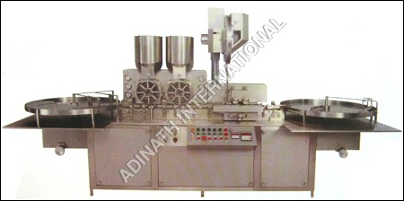 Vial Powder Filling & Stoppering Machine