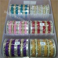 Assorted designer color bangles